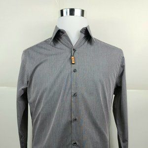 New Arrow Slim Fit Dress Shirt Gay And Pink